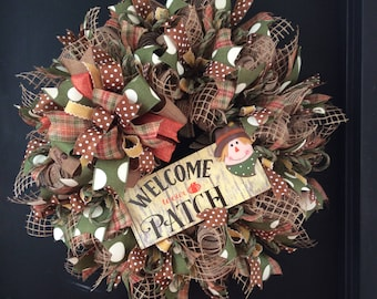 Welcome to our Patch wreath