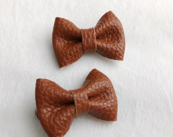 ESSIE Bow - Caramel (Leather)