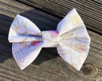 Mad Tea Party Cotton Bow