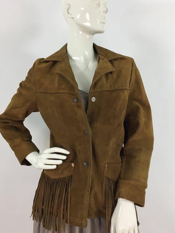 60s/70s vintage Rancher by Schott NYC/vintage frin