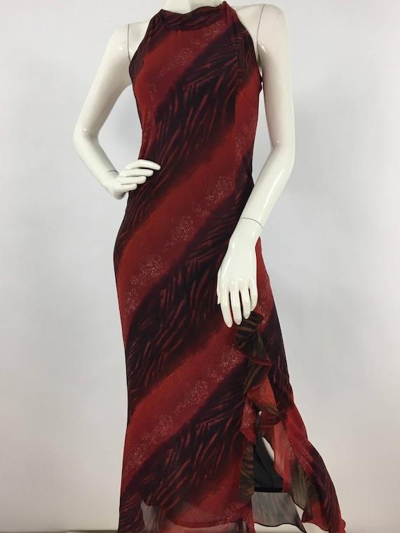 Vintage maxi/Saint Nouvara vintage maxi dress/fitt