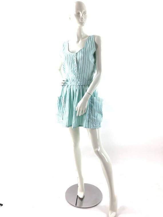 Betty barclay dress/striped dress/vintage betty ba