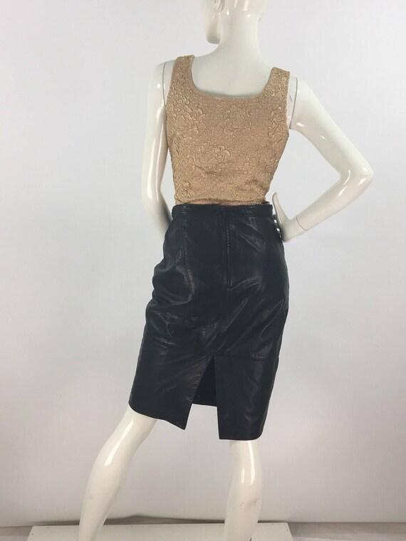 Vintage Ribkoff trends gold top side zipper - image 6