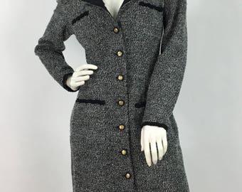 80s farouche by Lori Wiedner/1980s midi dress