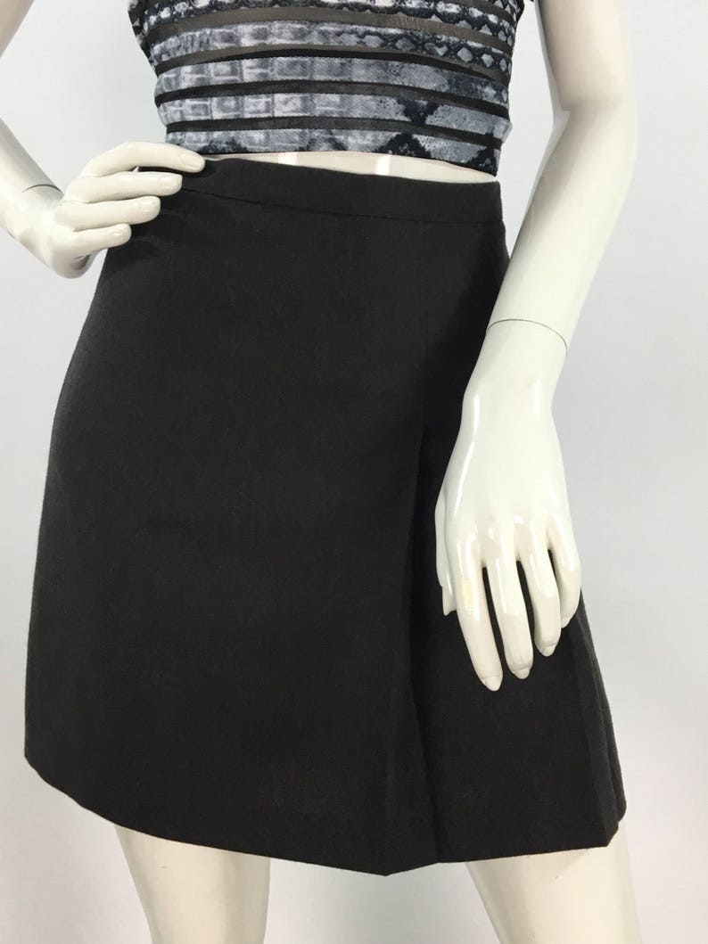 a6cdf5ad756 United colors of benetton vintage wool mini skirt grey wool
