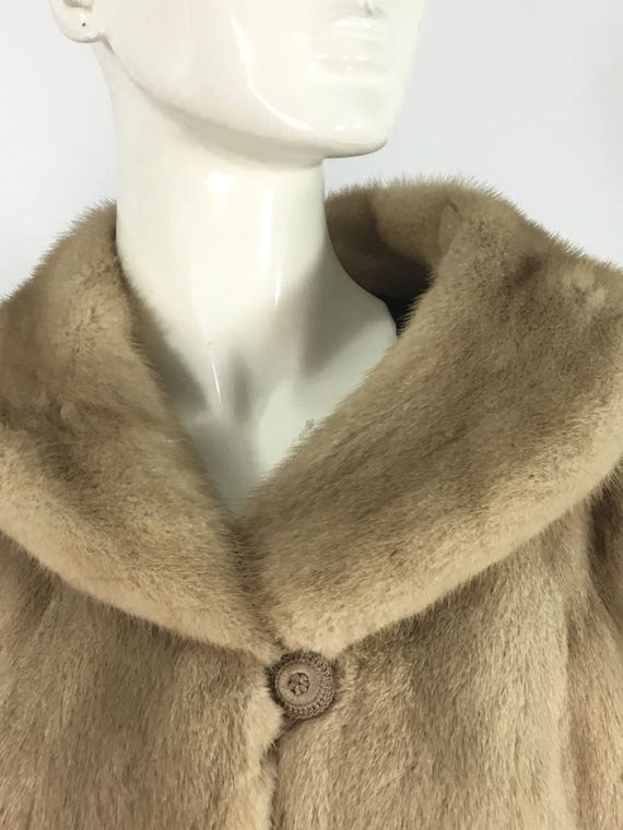 1950s mink coat/The Halle Bros mink coat/Lilly Dac
