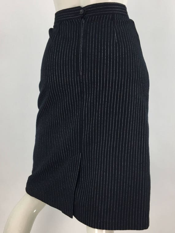 Vintage Parascope pencil skirt/small vintage penci
