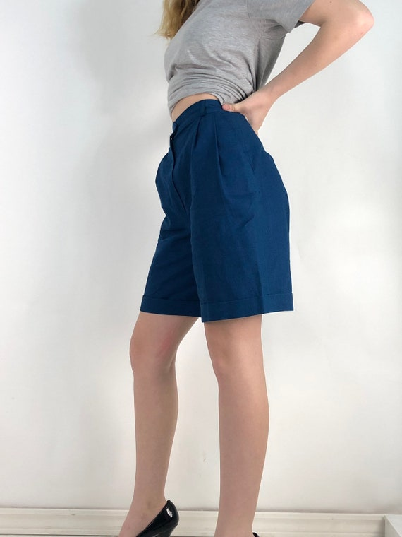 80s high waist shorts/vintage high waist
