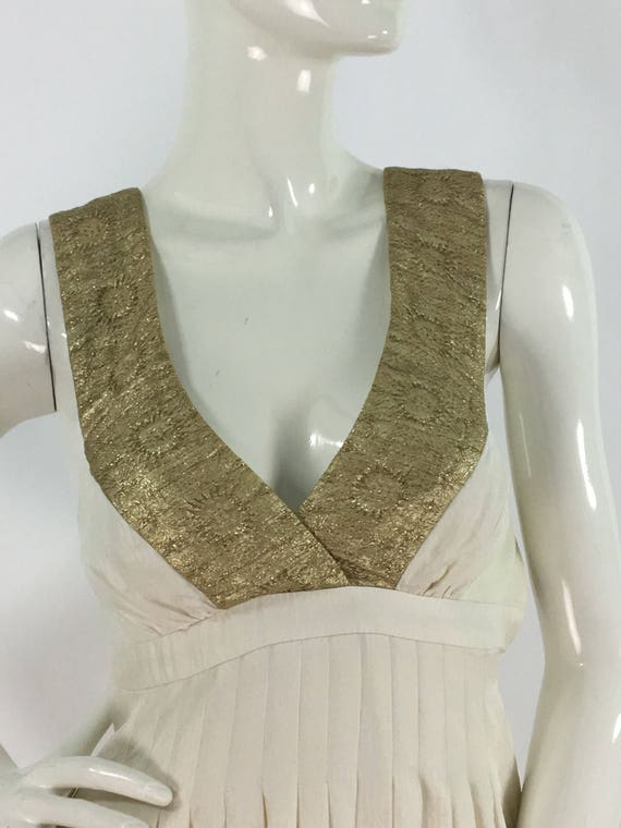 Prom dress/Vintage Nicole Miller dress/greek godde