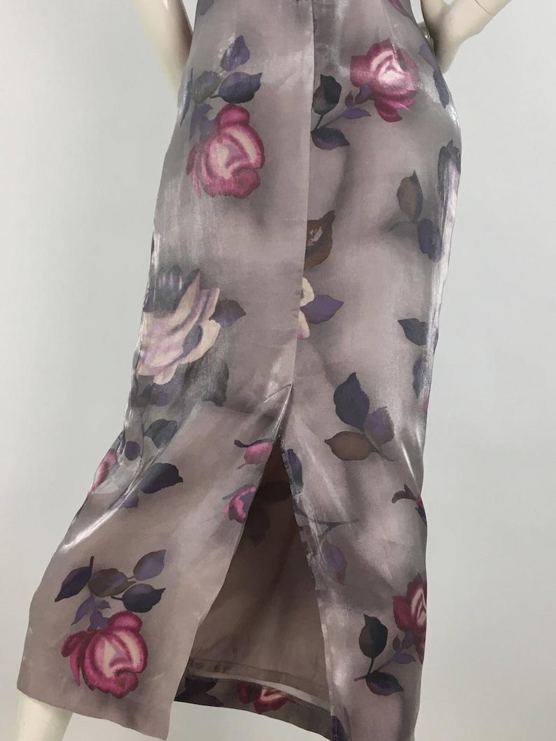 Vintage floral maxi dress90s floral maxi1990s Two Roads maxisize 3 maxi