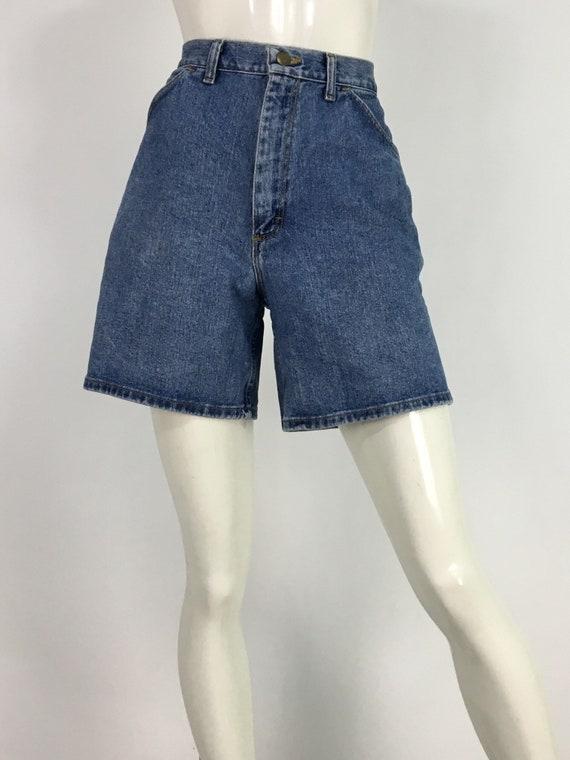 80s wrangler jean shorts/vintage wrangler for wome