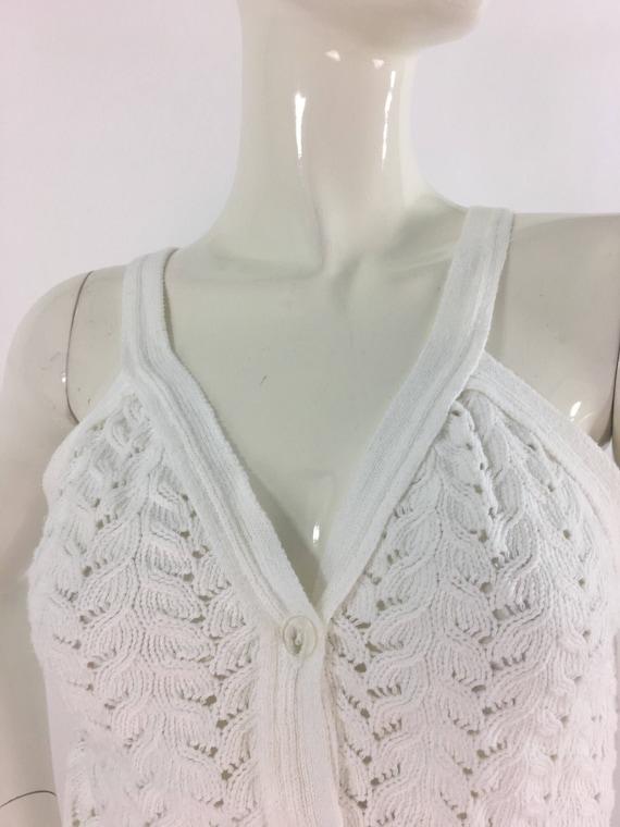 Vintage knit top/1990s knit top