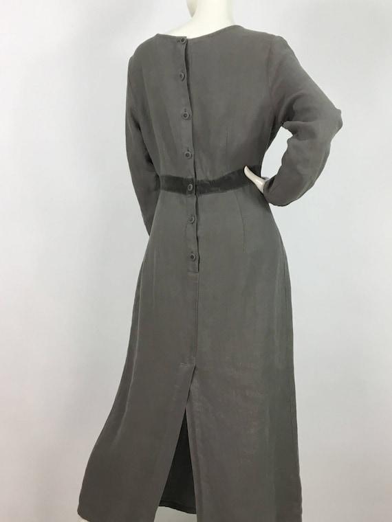 Two Star Dog hemp dress/100% hemp maxi dress