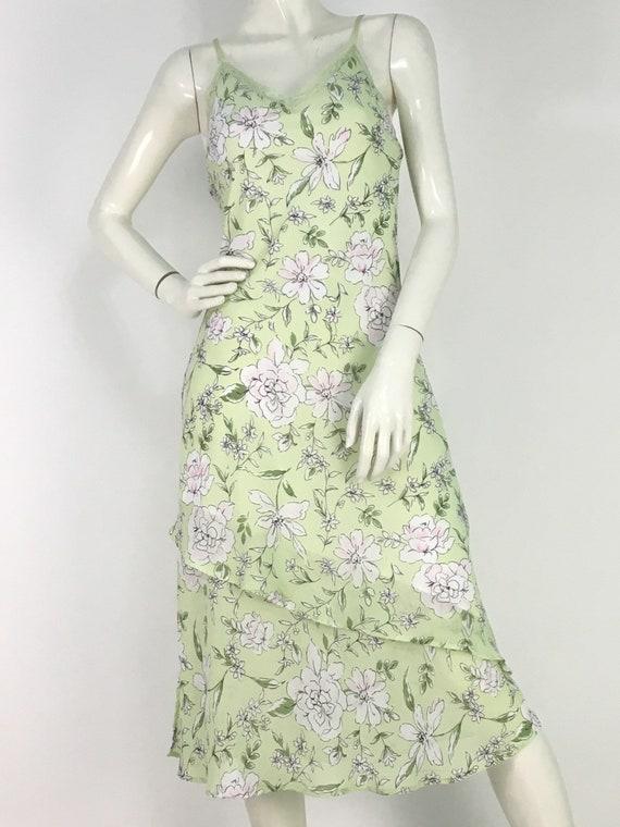 90s midi dress/vintage midi dress