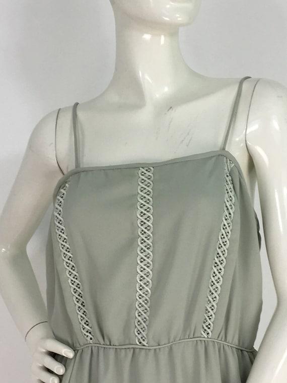 1970s midi dress/summer midi dress/vintage dress