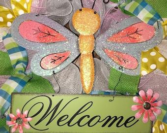 Wreath - Dragonfly