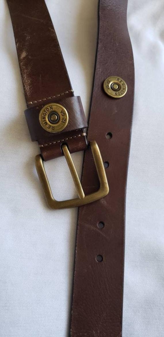 Remington men's belt