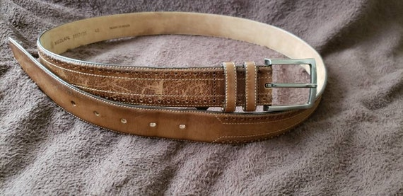 Mezlan men's belt