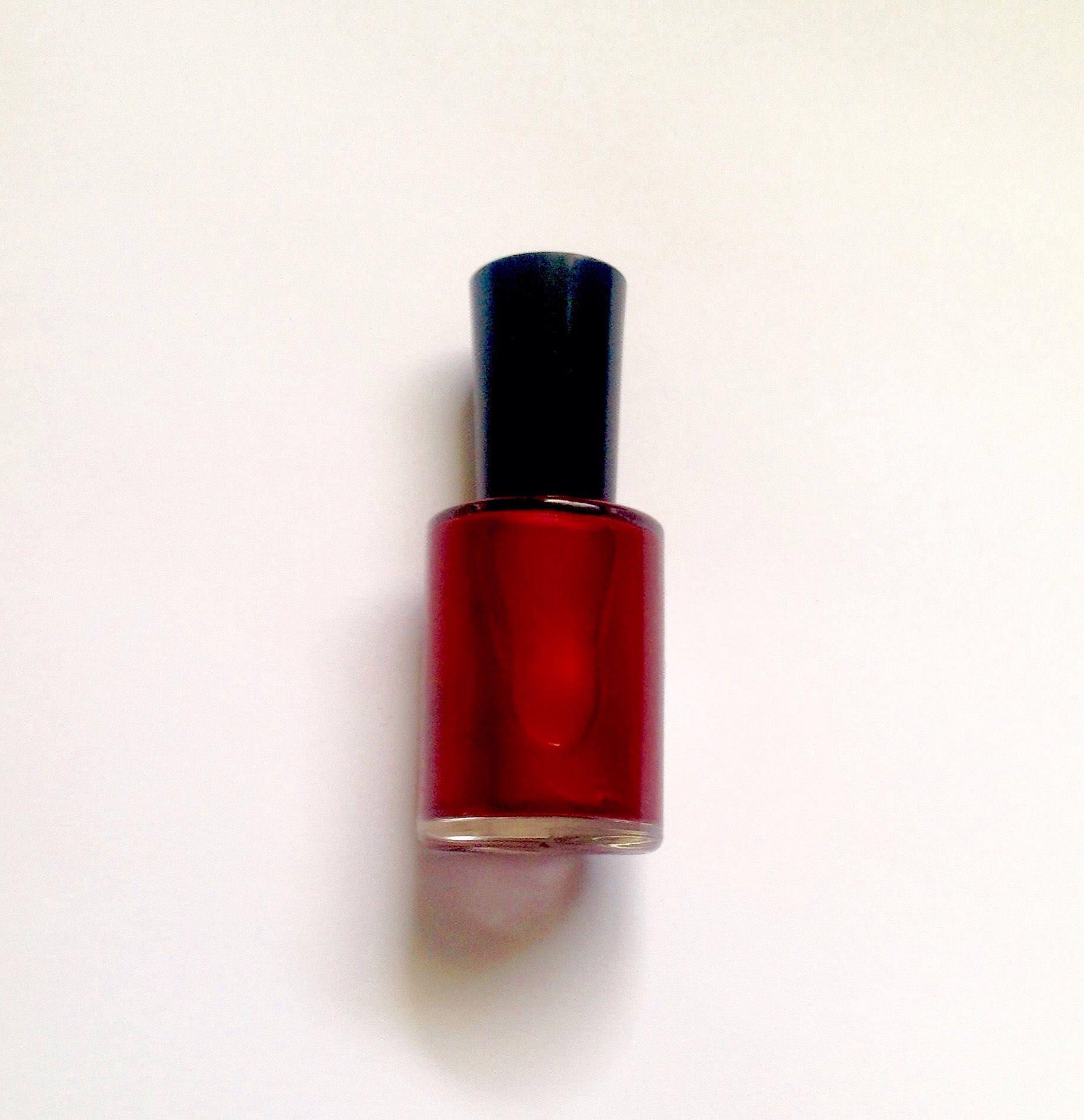 Ruby Nail Polish: Ruby Red Vegan Red Nail Polish-Red-Nail Polish-Gift For