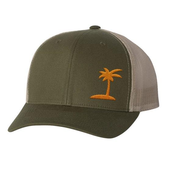 1bdd057e50d Palm Trucker Hat Trucker Cap Snapback Kryptek Multicam camo