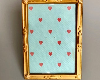 Vintage tin frame