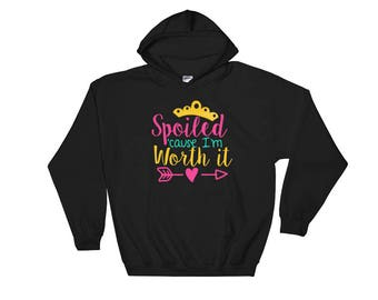 Kids Spoiled and Worth It Daughter Back to School Supplies