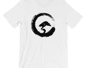 Bonsai Tree Enso Circle Buddhist Zen Yoga Kanji Shirt
