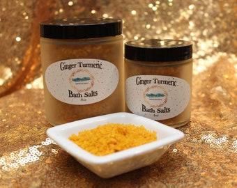 Ginger Turmeric Bath Salts
