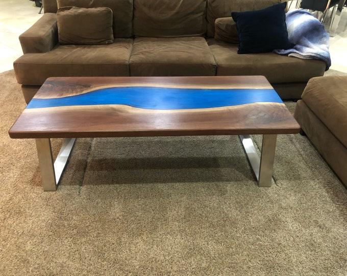 Custom Resin River Tables