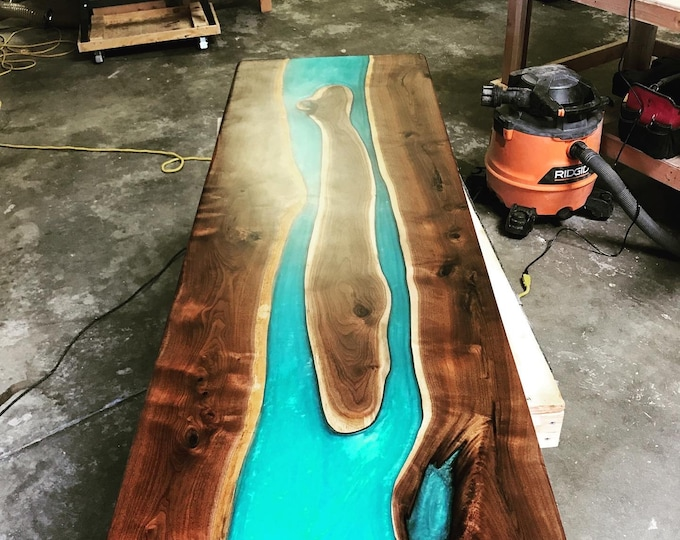 Double River Resin Tables