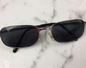 75eb61dc76 Vintage Black Lens Small Sunglasses
