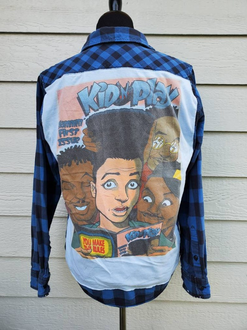 Kid and play house party flannel