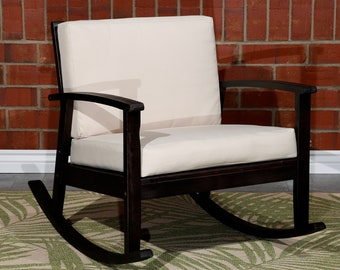 Tremendous Outdoor Rocking Chair Etsy Cjindustries Chair Design For Home Cjindustriesco
