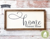 SVG FILES, Home sweet home svg, Farmhouse svg, cut files, Cricut, Silhouette Cameo, Commercial Use, Instant Download