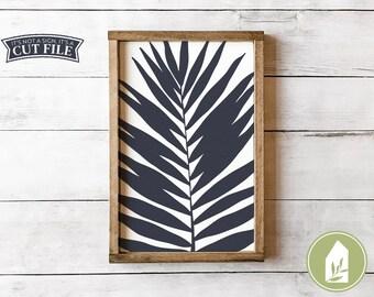 Tropical Leaf svg, Botanical SVG, Spring svg, Summer svg, Farmhouse Cut Files, Commercial Use, Digital File