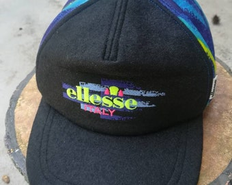 cbbdee51537 Vintage Ellesse Cap Hat One Size Fits All