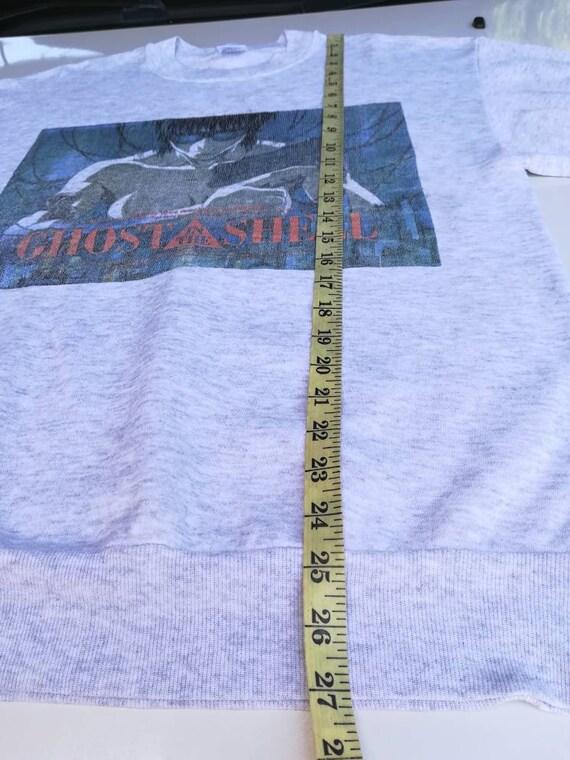 Sweater Shell Crewneck the Size Ghost Vintage Medium Sweatshirt in fOTva