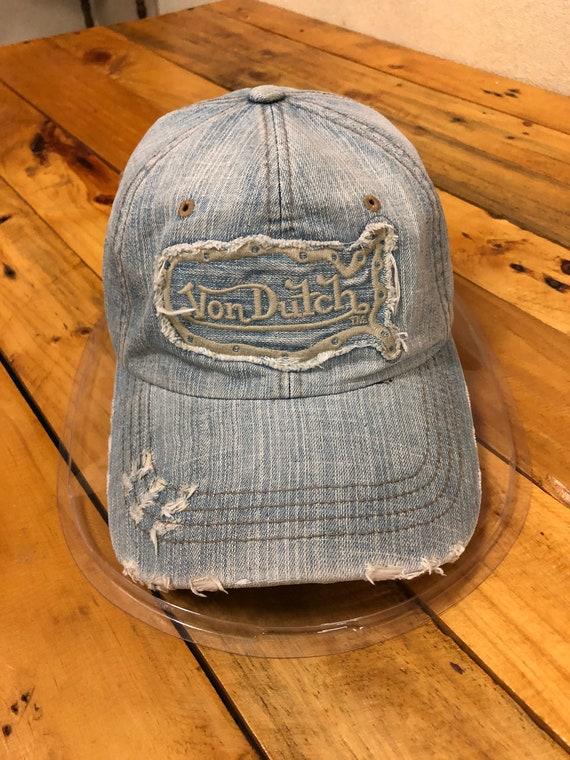 Von Dutch Denim Cap Hat