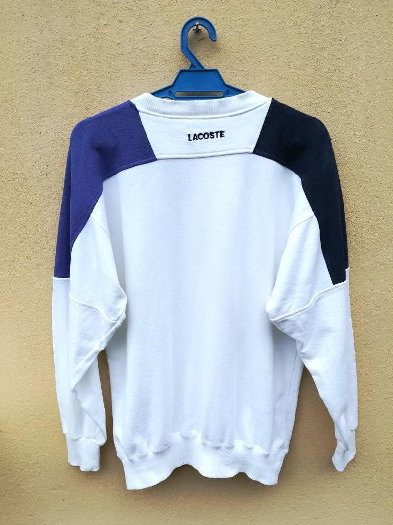 Vintage Lacoste Big Logo Sweatshirt Small Size