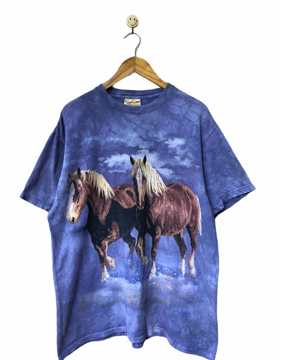 Vintage Horse Habitat Animal Tee by The Mountain X