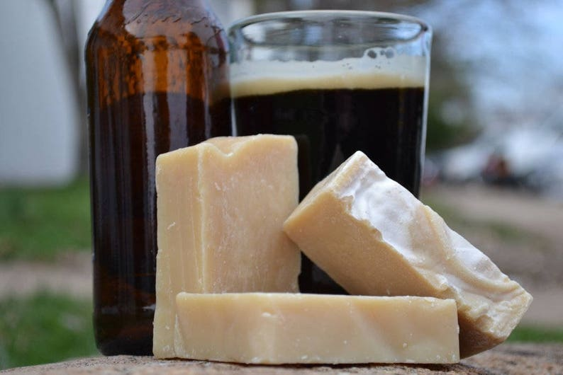 Beer  Handcrafted Vegan Bar Soap image 0