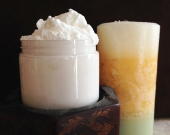 Whipped Shea Butter - Handcrafted - Oatmeal and Honey