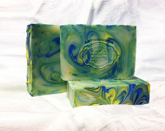 Vetiver Grass - Earthy - Musk - Handcrafted Vegan Bar Soap