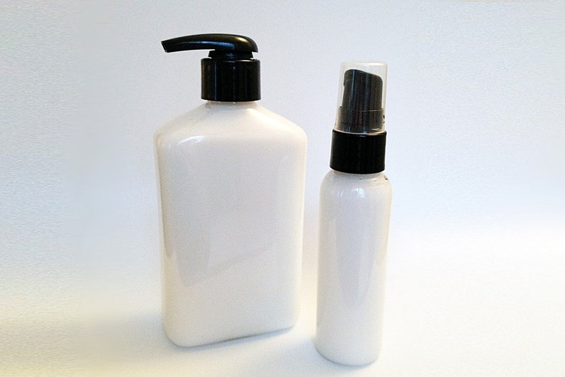 Just Plain Lotion  Handcrafted No fragrance or Colors Added image 0