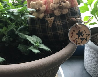 Primitive Patriotic owls bowl filler, shelf sitter, tuck, ornie- Independence Day- 4th of July