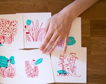 Les Petites Siestes | Screenprint series