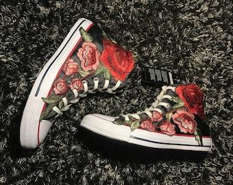 e600e25057a Custom rose converse