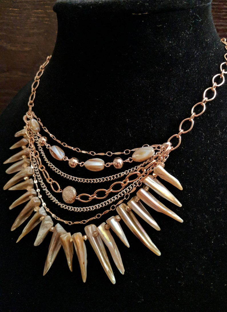 ASHERAT Multi Strand Necklace