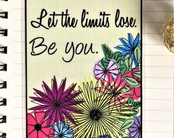 Let the Limits Lose...Be You! Laminated Motivational Bookmark