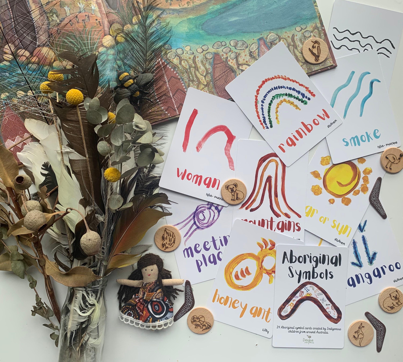 Indigenous Australian Aboriginal Flashcards Flash Cards Etsy